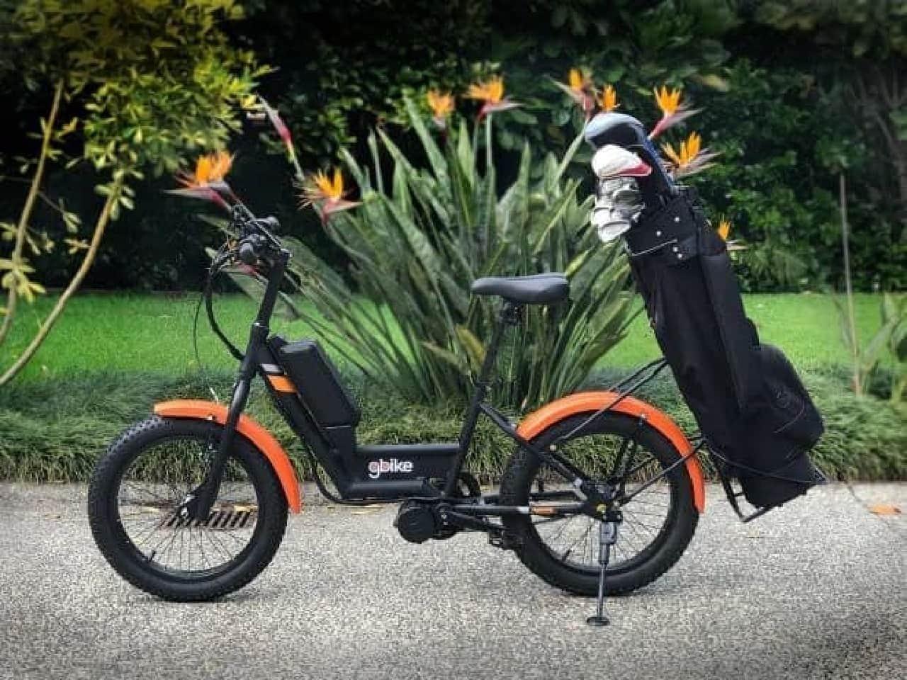 ゴルフ場専用電動アシスト自転車自転車「GOLFER」…