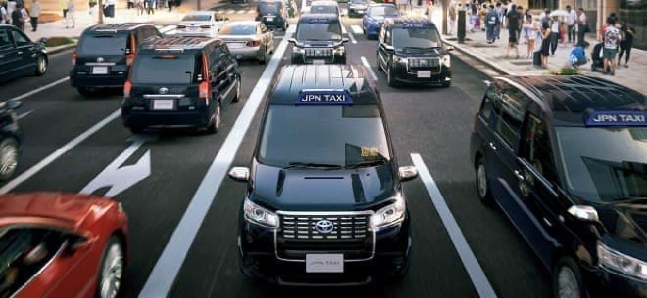 トヨタ、「JPN TAXI(ジャパンタクシー)」を発売