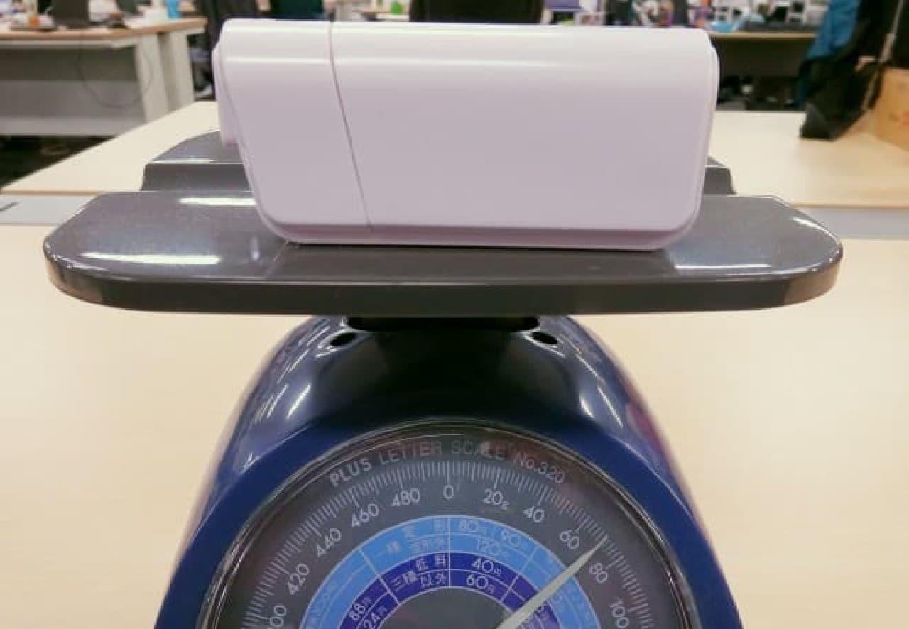 ダイソー「【電池式】モバイルバッテリー」