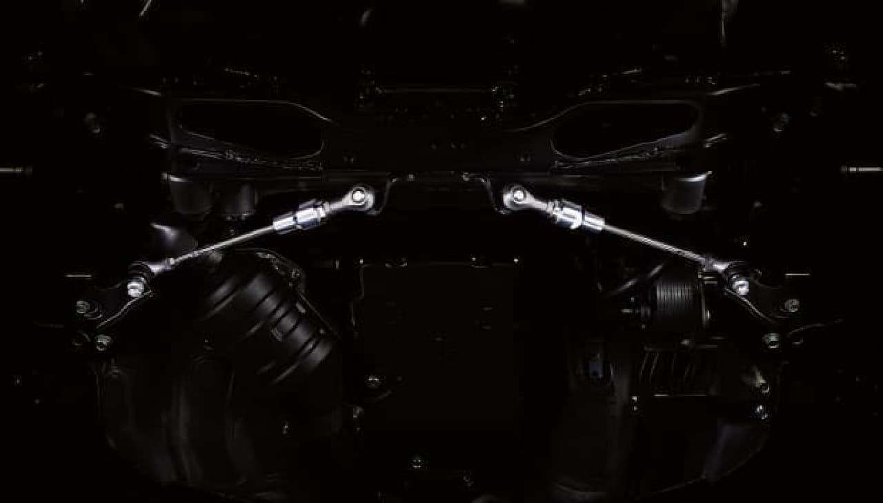 SUBARU BRZに最上級グレード「STI Sport」 STI製フレキシブルドロースティフナーフロント