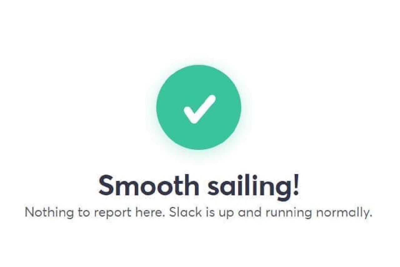 Slackのステータスイメージ