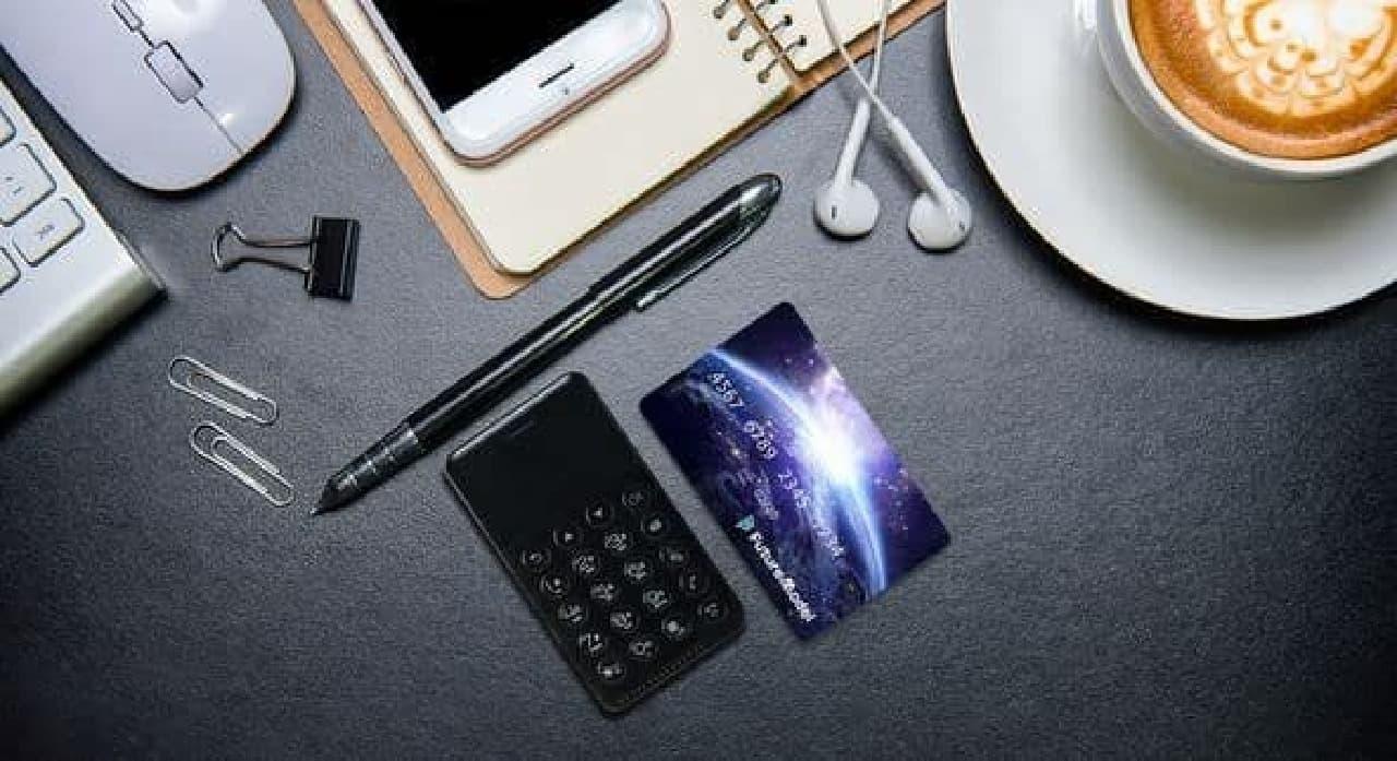 SIMフリーでテザリングに対応したガラケー「NichePhone-S」