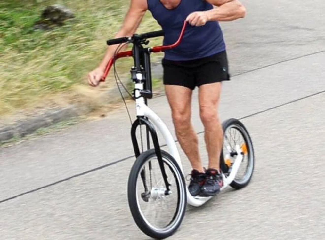 全身運動できる自転車「Standup Varibike」