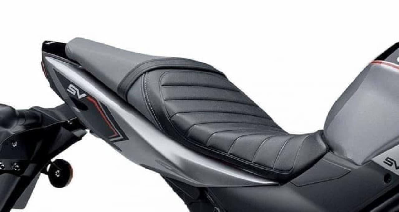 参考画像:ロードスポーツバイク「SV650 ABS」