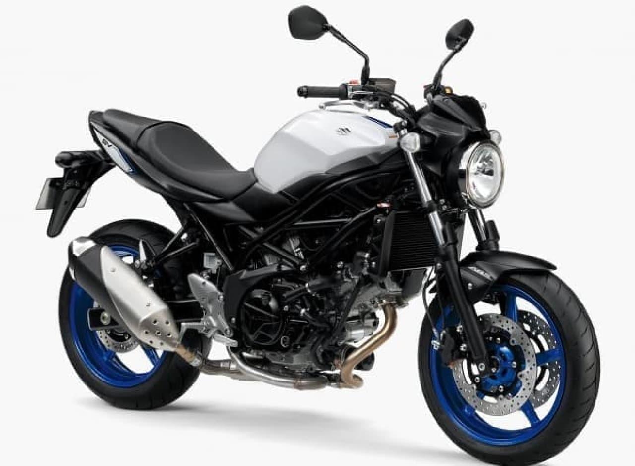 スズキ、ロードスポーツバイク「SV650」