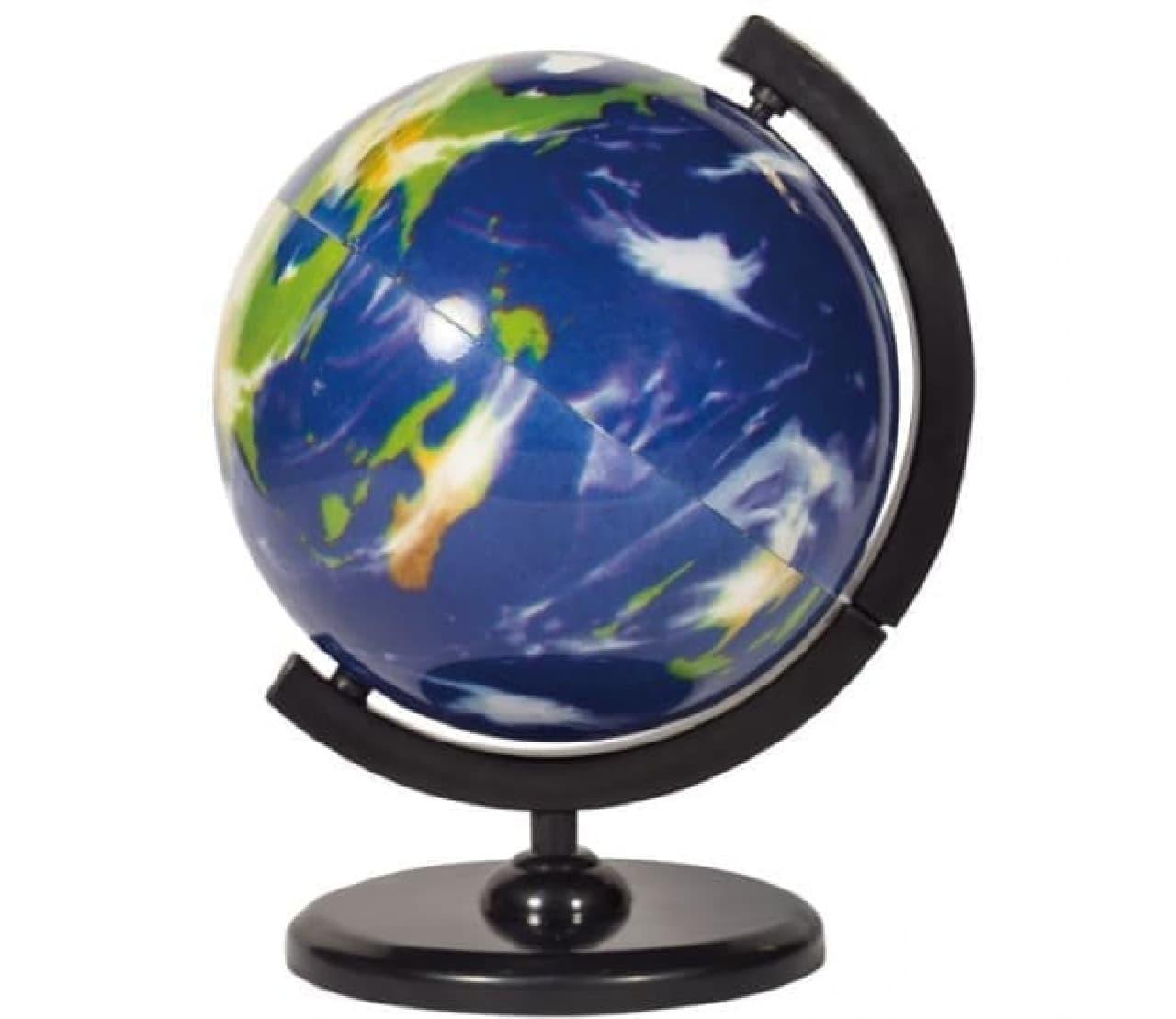 カプセルトイ「カプセル de 地球儀 ver.Planet」