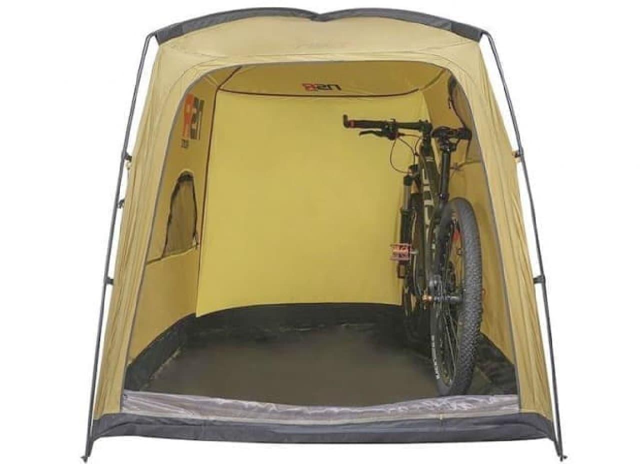 サイクルキャンプ専用テント NSR Riding「BICYCLE TOUR CAMPING TENT」
