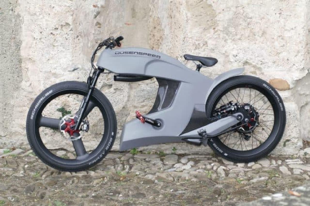 時速160キロで走れる電動バイク、Dusenspeedの「Modell 2」