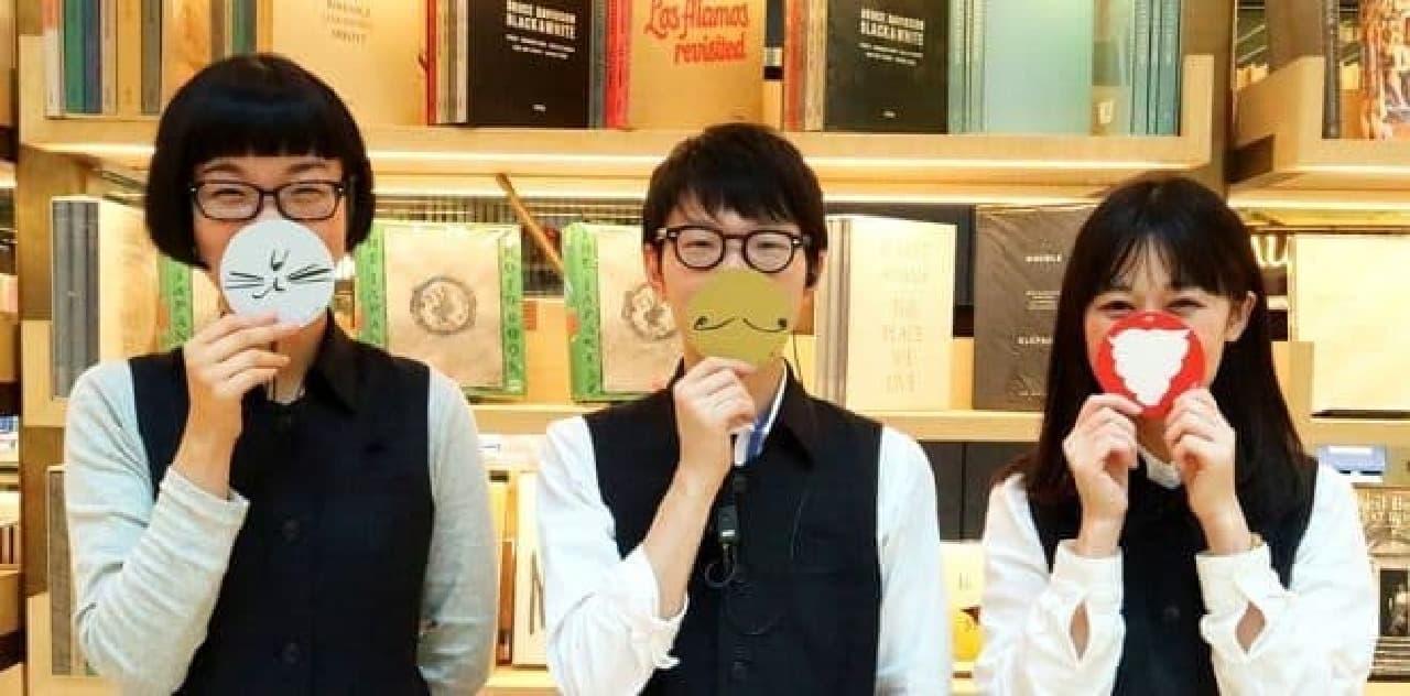 GINZA SIXの銀座 蔦屋書店で、「猫とアートとクリスマス」