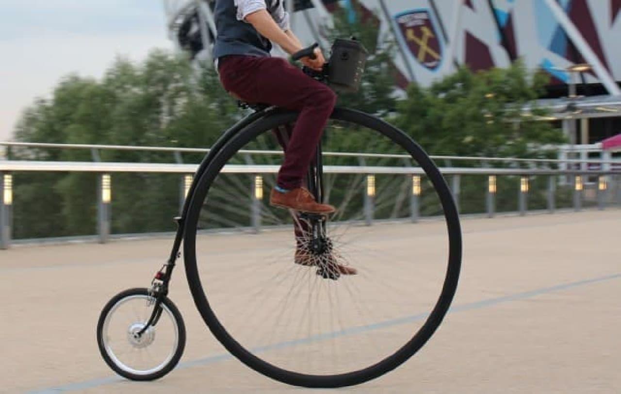 愛車を電動アシスト自転車に変える「Swytch」-