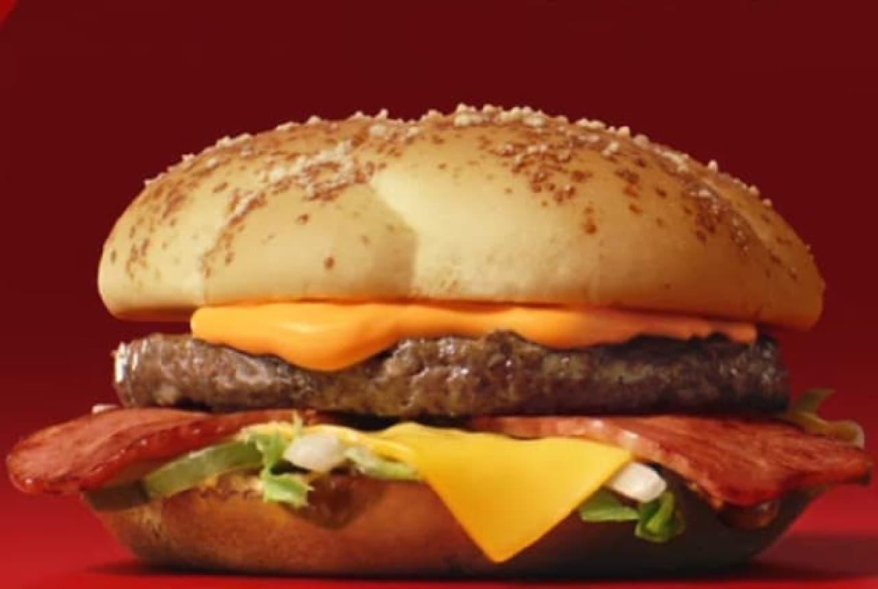 ハンバーガーのイメージ
