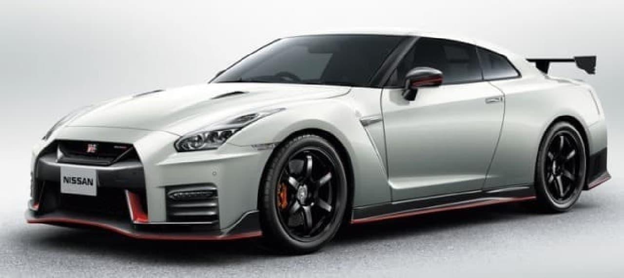 「NISSAN GT-R NISMO」2018年モデル