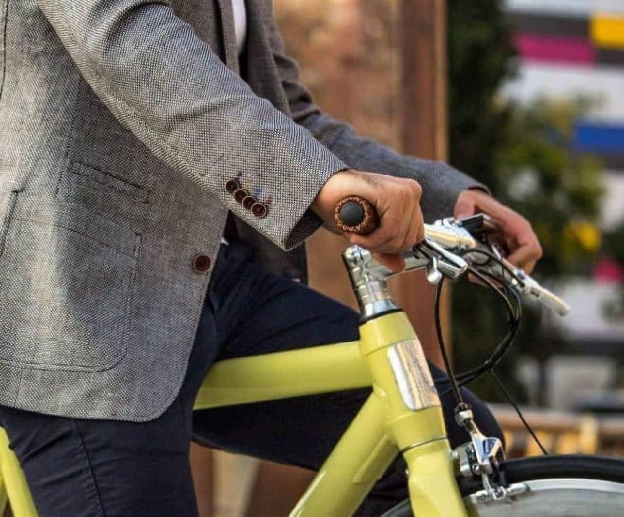 世界一美しい電動アシスト自転車「Lauva」