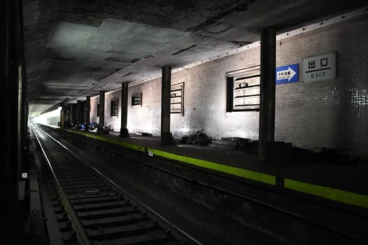 幻の地下鉄駅のイメージ