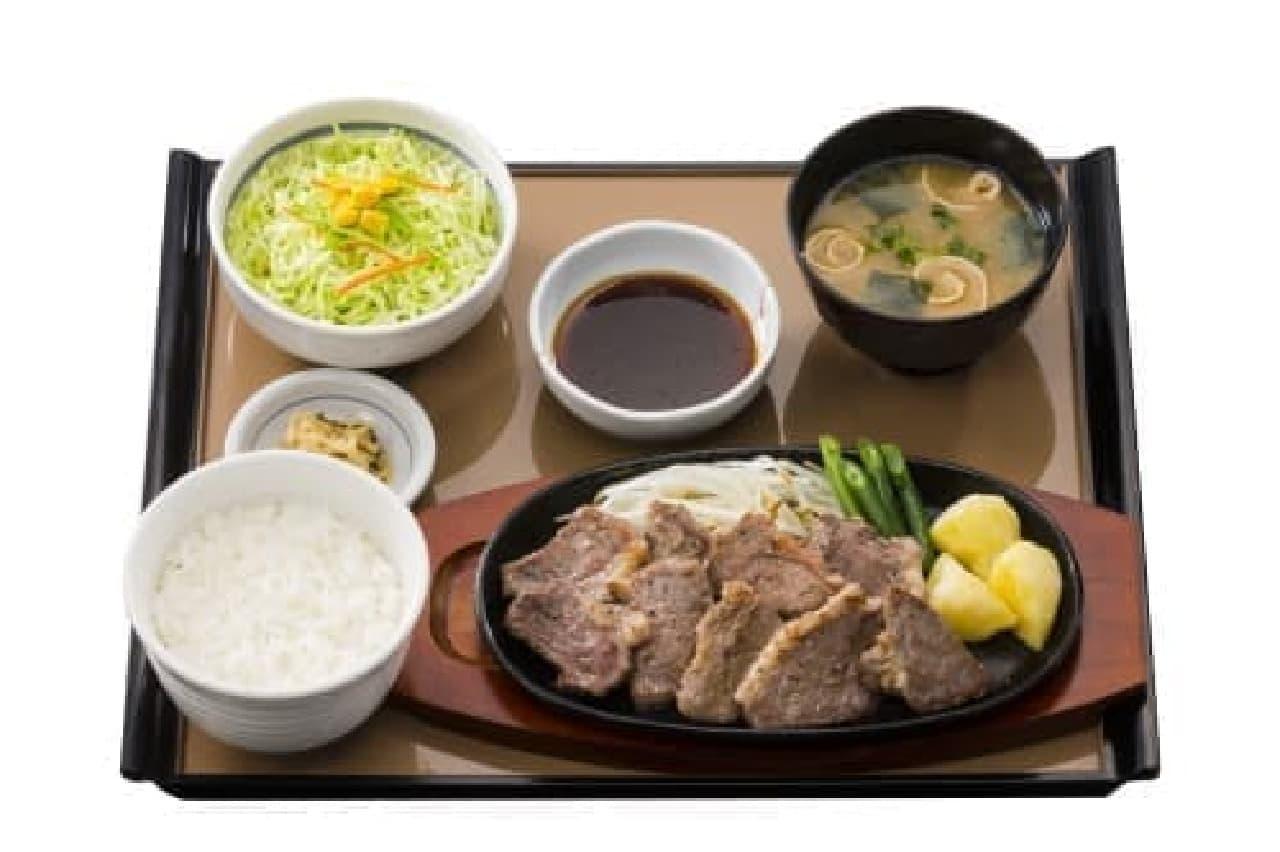 ステーキ定食のイメージ