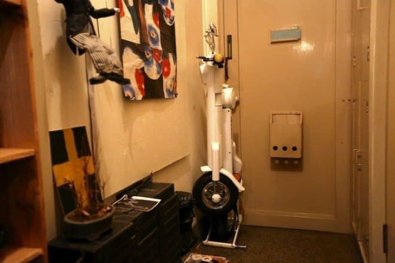 折り畳み電動バイク「Cute-mL」