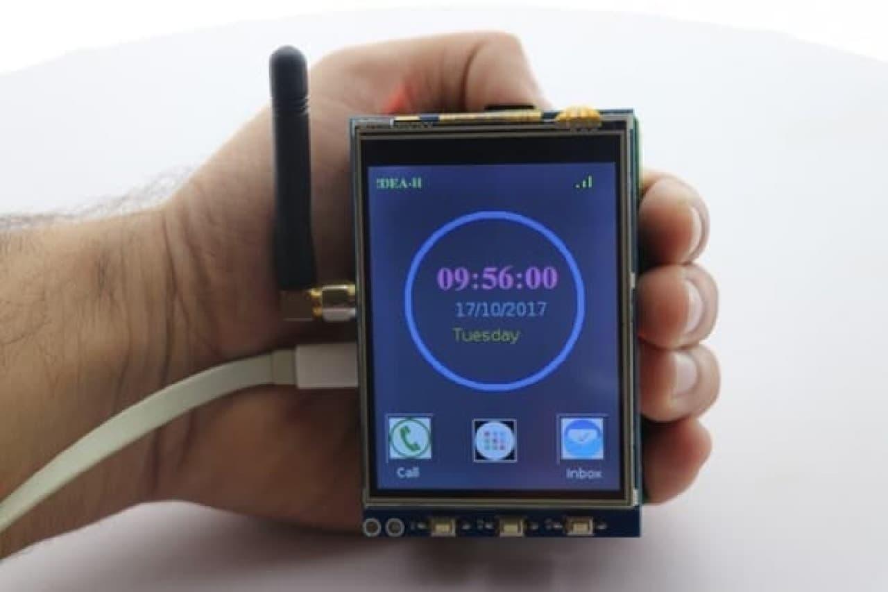 ラズベリーパイをスマートフォンにするPiTalk Kit