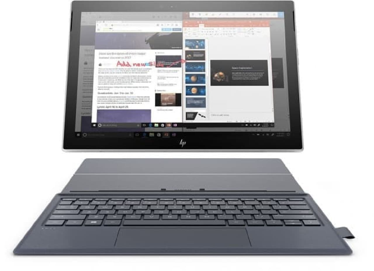 スナドラ搭載Windows 10 PC、ASUS「NovaGo」とHP「ENVY x2」