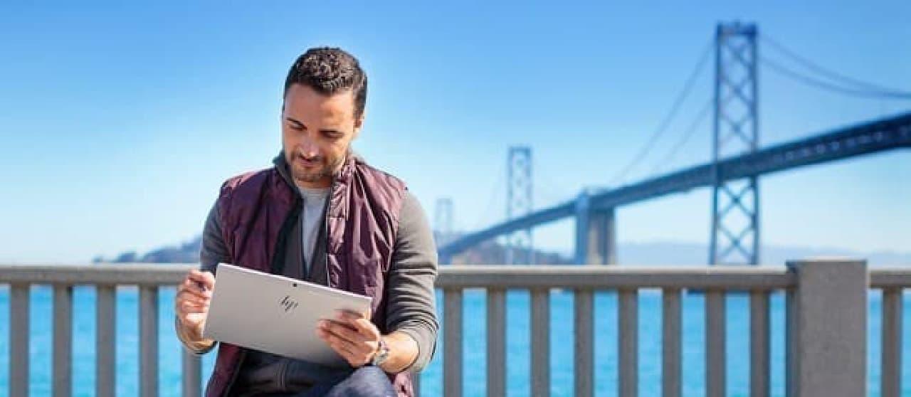 スナドラ搭載Windows 10 PC、HP「ENVY x2」