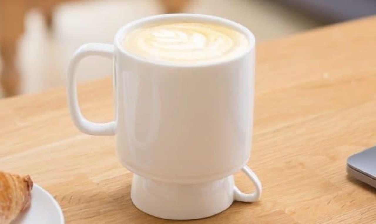 これひとつで、エスプレッソもラテも!-「Espresso & Latte Mug」