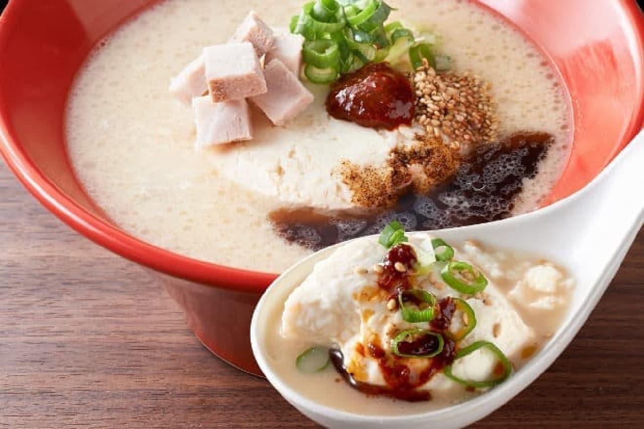 とんこつ豆腐スープ