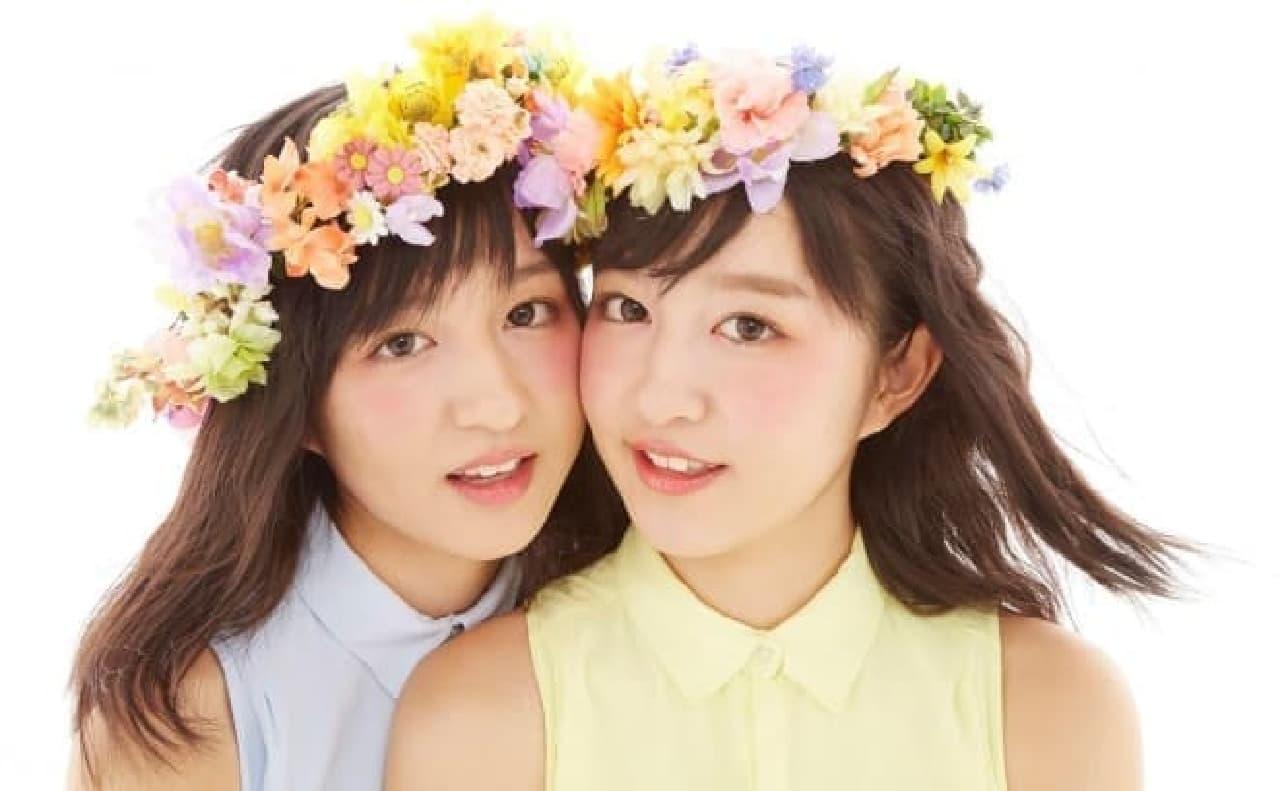 "LINE LIVE限定番組ゲスト ""りかりこ"""