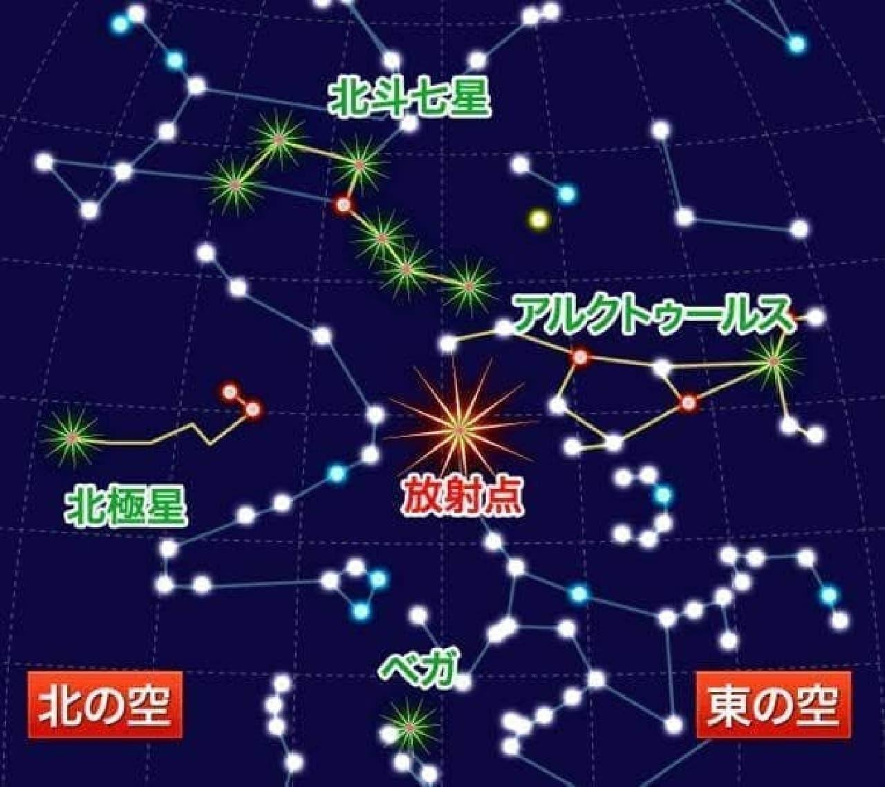 「しぶんぎ座流星群」2018年は見える?… ウェザーニューズが1月3日の全国の天気傾向を発表