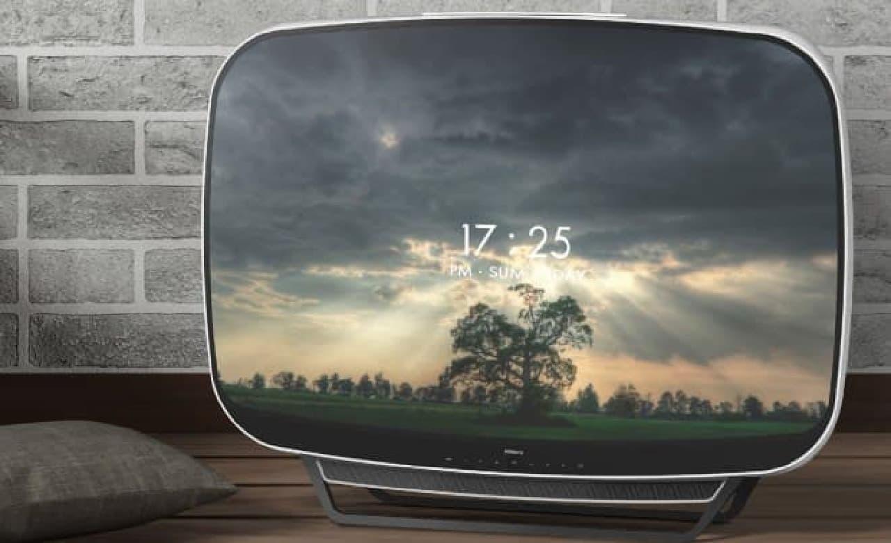 PDF HAUSによるコンセプトデザインTELAEVIA RETRO TV