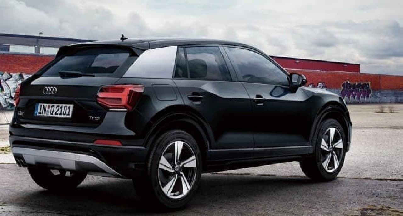 ロングドライブをテーマにした「Audi Q2 #touring limited」