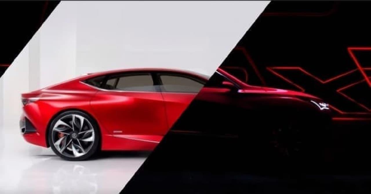 ホンダ、Acuraブランドの新型「RDX」プロトタイプ
