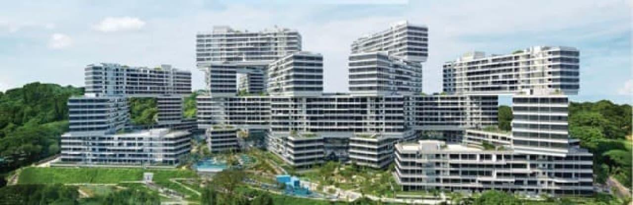 シンガポールの「The Interlace」