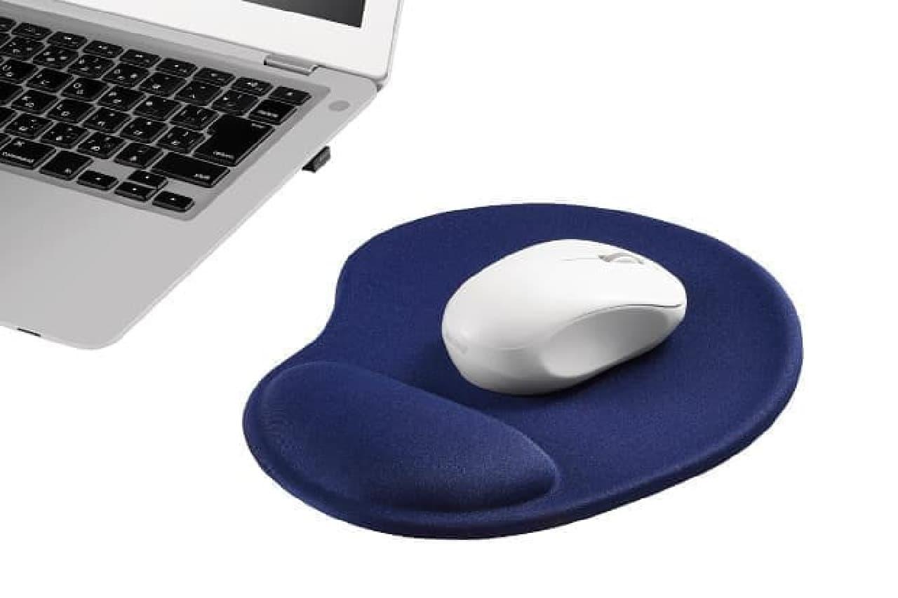 リストレスト一体型マウスパッド