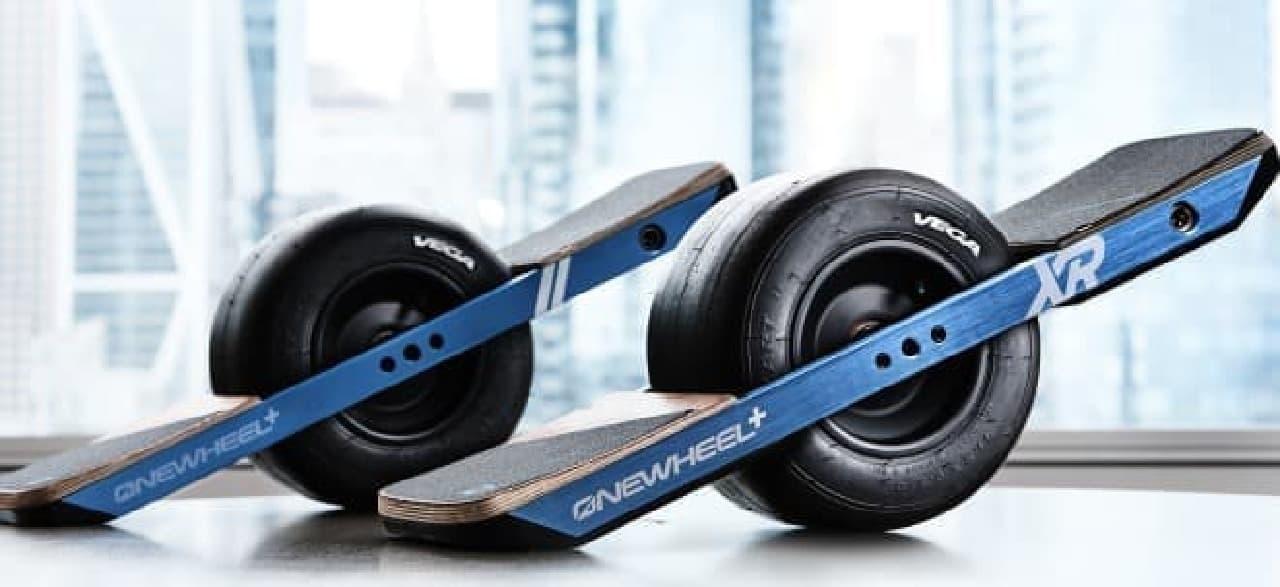 一輪電動スケートボードの最新モデル「ONEWHEEL+ XR」