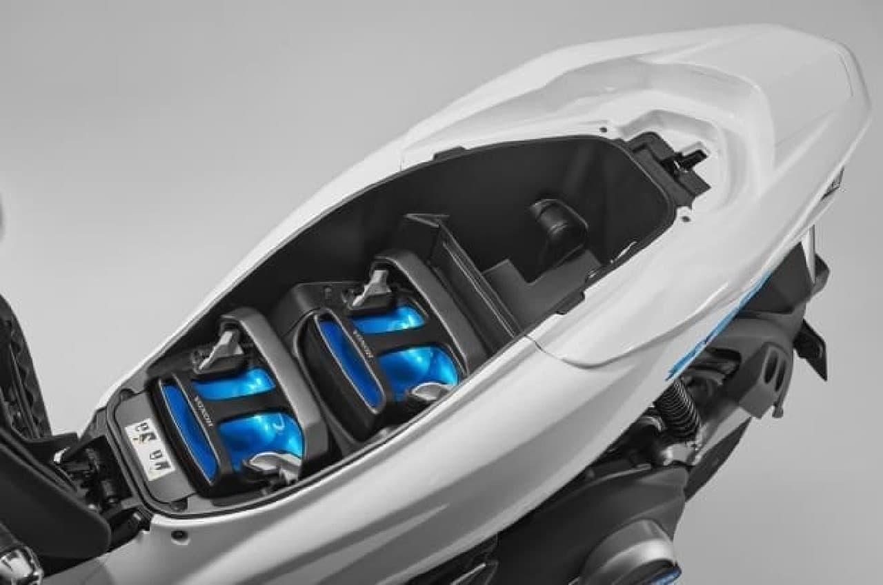 ホンダの電動スクーター「PCX ELECTRIC」
