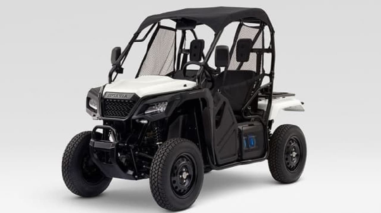 「Honda Mobile Power Pack」を活用した「Honda Mobile Power Pack 4W-Vehicle Concept」