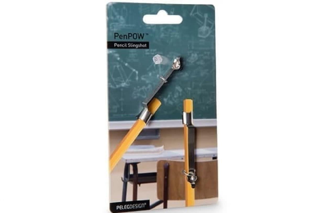 鉛筆をスリングショットにする「PENPOW」