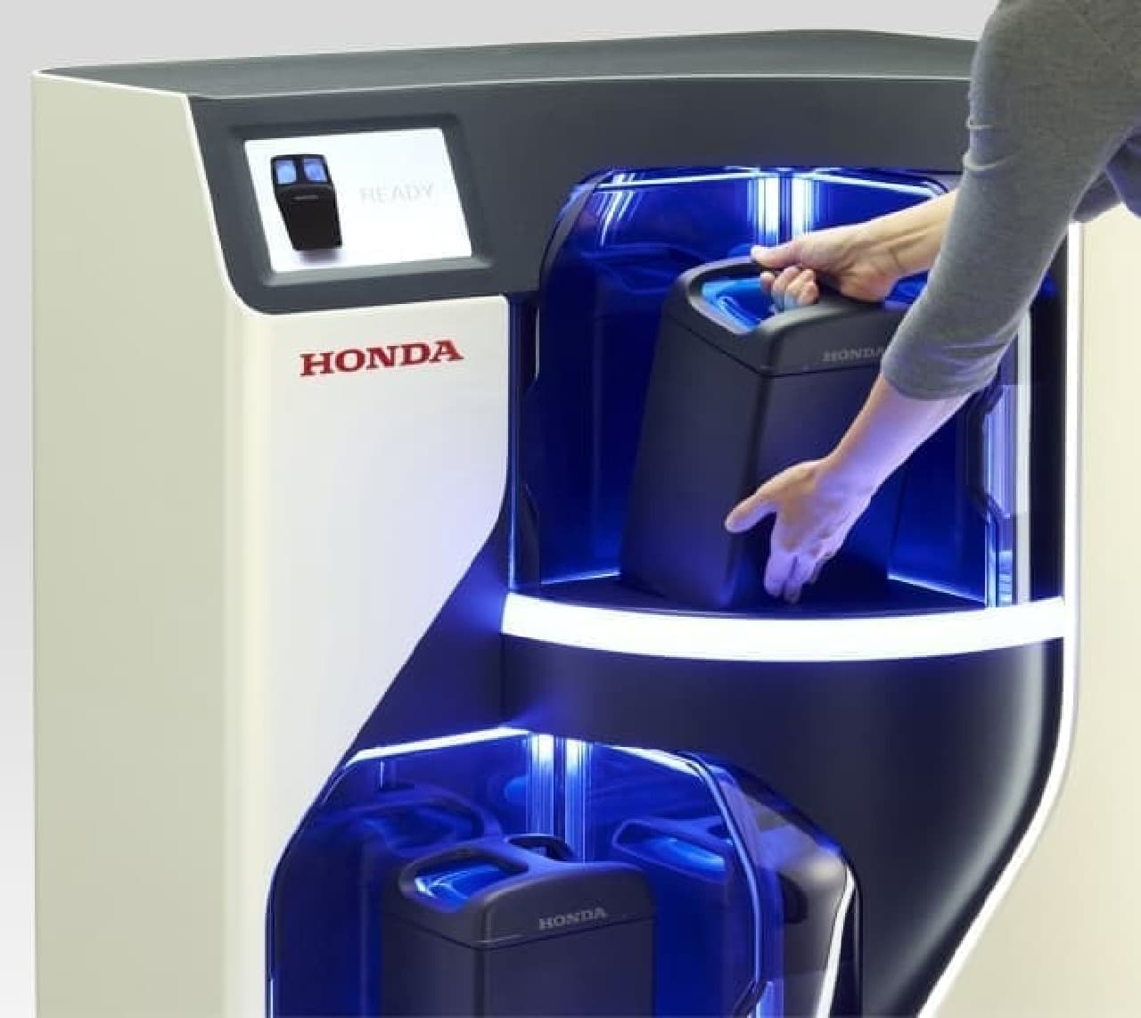 Honda Mobile Power Pack Exchanger Concept