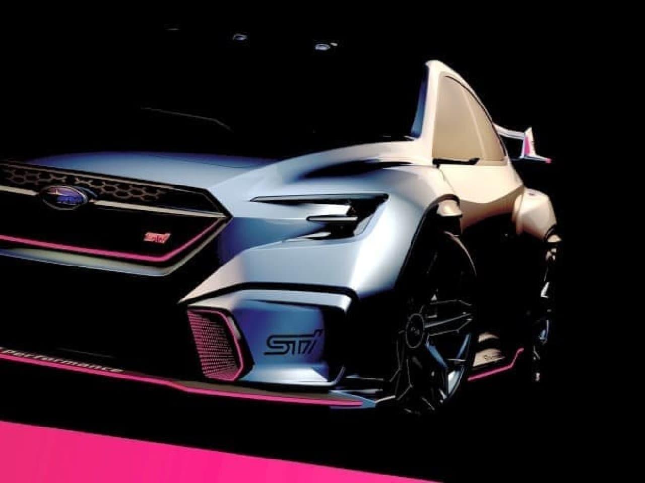 SUBARU、コンセプトカー「SUBARU VIZIV PERFORMANCE STI CONCEPT」を東京オートサロン2018に参考出品