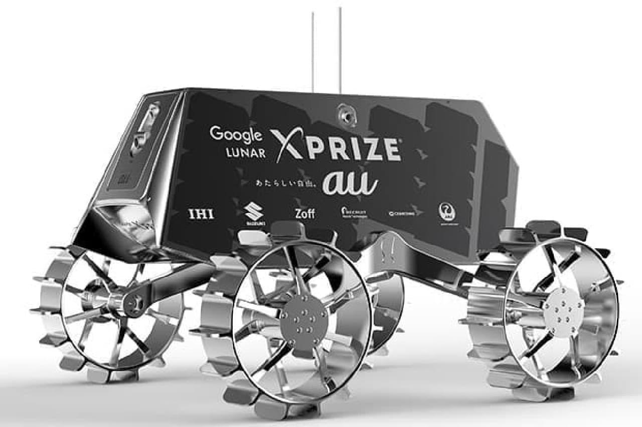 日本製の月面探査車両