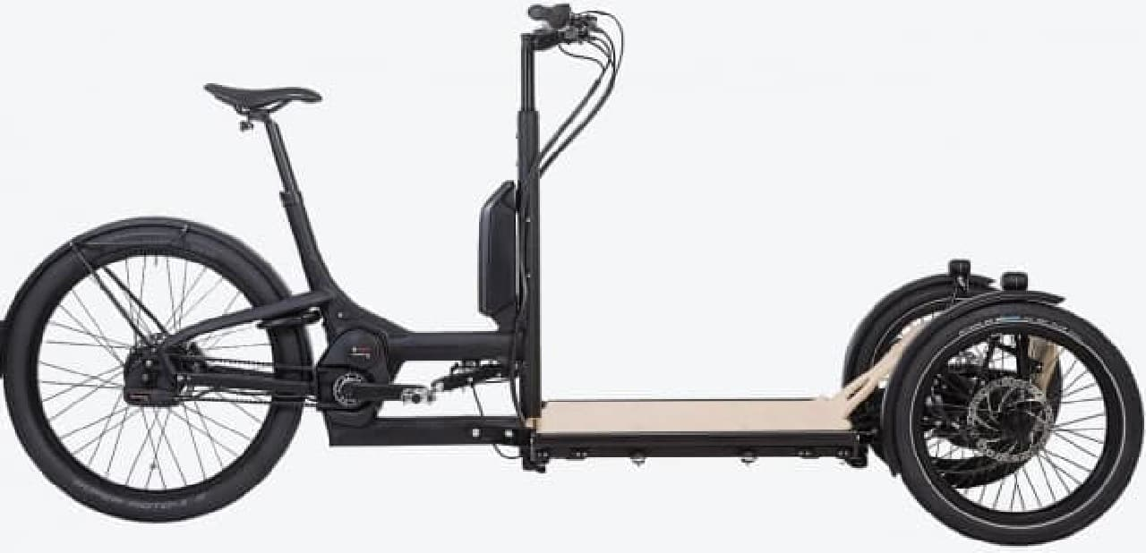 トリシティみたいな電動アシスト自転車「CD1 CARGO」
