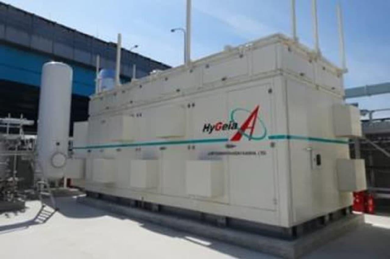下水汚泥から水素を製造する装置