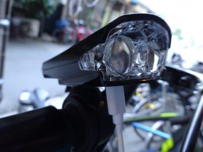 街中で使うならあり!-BVクールホワイトLED充電式自転車用ライト
