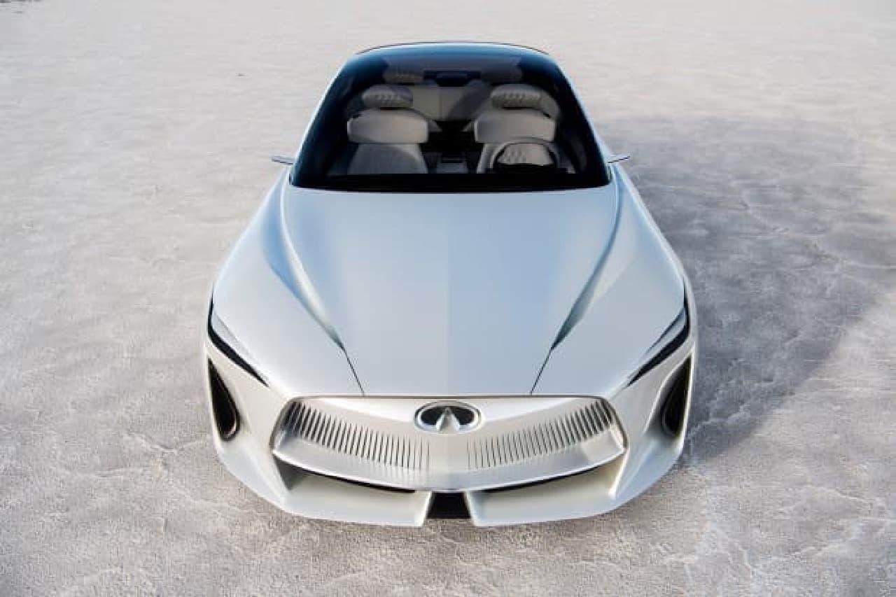 日産、インフィニティ「Qインスピレーションコンセプト」を北米国際自動車ショーで発表