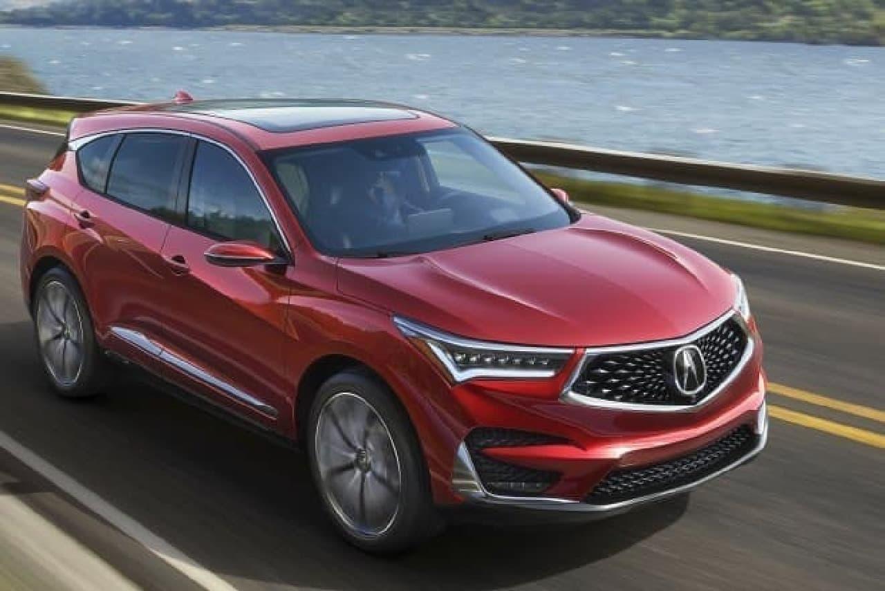ホンダ、Acuraブランドの新型「RDX」プロトタイプを北米国際自動車ショーで公開