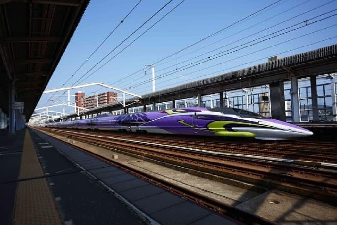エヴァ新幹線のイメージ