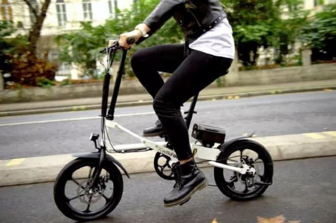 折り畳み自転車「KwikFold」