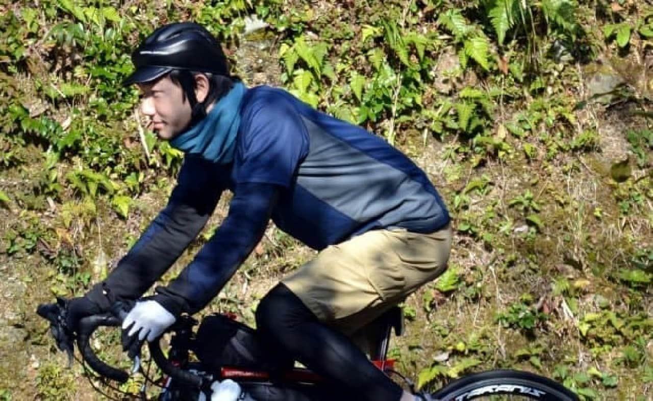 カジュアルな自転車用のカスク「ブリムカスク」「フォールディングカスク」