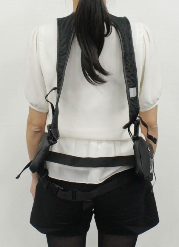 ポケット付きのハーネスタイプ「Sierra 901」