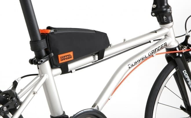 自転車用バッグ「トリプルストレージフレームバッグ」、DOPPELGANGERから
