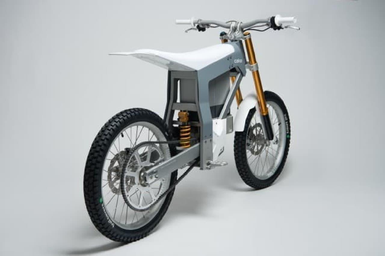 電動オフロードバイク、CAKEの「KALK」